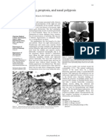 Atopy, Proptosis, And Nasal Polyposis