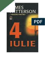 124013531 James Patterson 4 Iulie