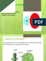 Poleas y Polipartos Juan Sebastian