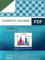 Elementul Galvanic-Baterii Si Celule de Combustie