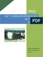 Cap. 4 Analisis Hidraulico de Puente