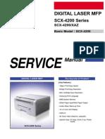 Service Manual SCX-4200
