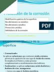 Protección de la corrosión