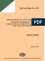Adverse Insurance