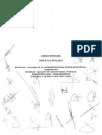 NMX-R-021 Escuelas Calidad de La Infraestructura Fisica Educativa BN