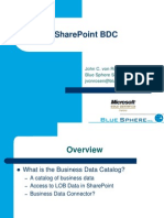 SharePoint BDC