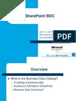 SharePoint BDC