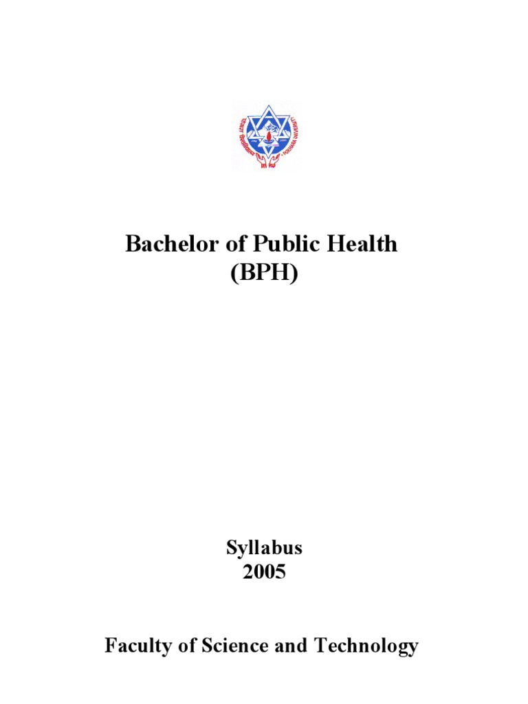 Bachelor of public health infection public health fandeluxe Choice Image