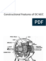 Constructional Features of DC M