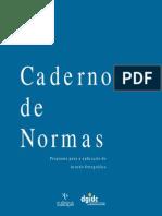 Caderno Normas Acordo Ortografico