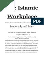 The Islamic Workplace.doc Leadership