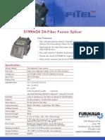 Fitel S199M24 Spec Sheet