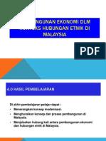 Topik 4 Pembangunan Ekonomi Dalam Konteks Hubungan Etnik Di Malaysia