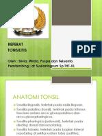Tonsilitis Gs Ppt