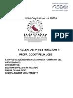 Taller de Investigacion II