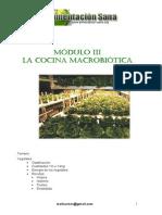 Modulo 3 Cocina Macrobiotica