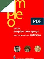 Guía de empleo con apoyo para personas con autismo