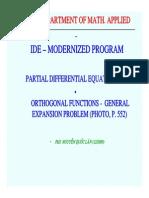PDE Lec 06 Orthogonal