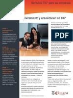 Asesoramiento y actualización en TIC.