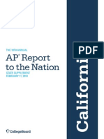 10th Annual AP Report State Supplement California