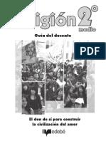 GUÍA DEL DOCENTE RELIGIÓN 2 MEDIO EDEBE