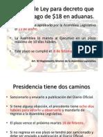 Decreto aduanas