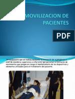 Inmovilizacion de Pacientes