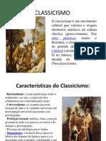 Historia Da Arte Clacissismo