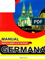 MANUAL GERMANA Invata Simplu Si Rapid