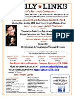 Family Links 2014 Full Program With Registration Form