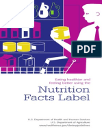 Eating Healthier and Feeling Better Using the Nutrition Facts Label