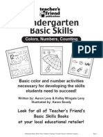 Scholastic K Skills (Color & Numbers)