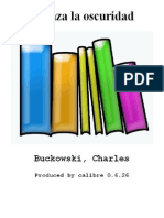 Abraza La Oscuridad - Buckowski Charles