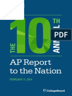 10th Annual AP Report to the Nation Single Page[1]