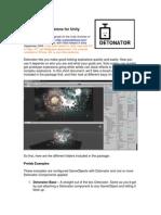 Detonator Documentation manual for blender modeling