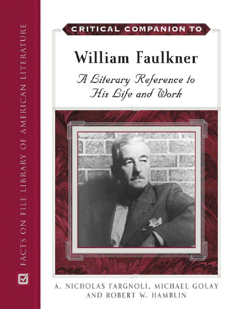 Interesting facts about William Faulkner?