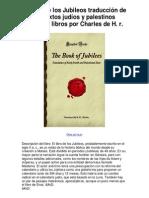 El libro de los Jubileos traducción de los textos judíos y palestinos olvidado libros por Charles de H r - Averigüe por qué me encanta! (1)