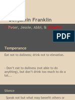 benjamin franklin powerpoint