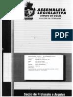 Projeto de Lei 0916/13 - Institui o Dia Estadual do Escritor Goiano, a ser comemorado no dia 23 de abril.