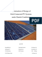 OptimisationOfDesignOfGrid-ConnectedPVSystemsUnderDanishConditions