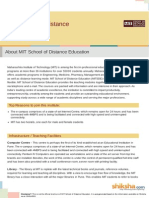 MIT School of Distance Education