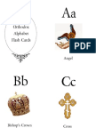 Orthodox Flashcards Front
