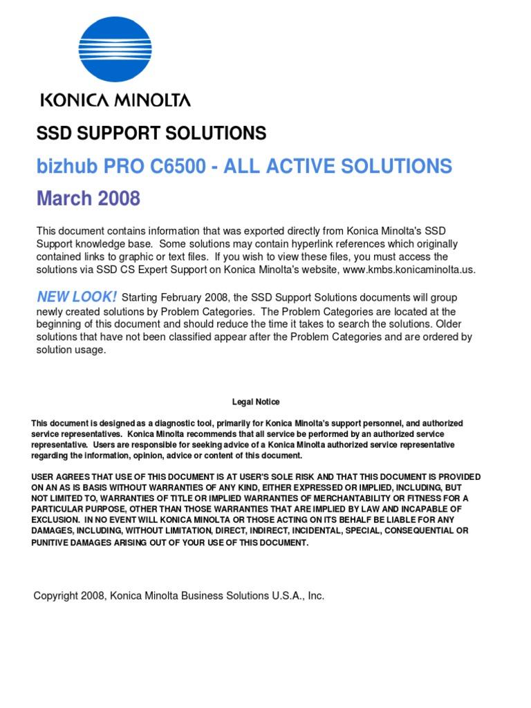 c6500_solutions pdf | Portable Document Format | Installation