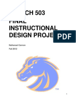 Instructional Design Project