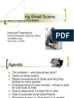 SIRT Roundtable RecogniziscamngEmailScams(1)