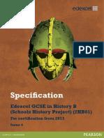 GCSE History B Spec 2012