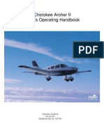 Cherokee Archer II Pilot's Operating Handbook