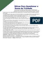 11 Razões Bíblicas Para Questionar o Batismo em Nome da Trindade_.docx