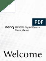 Benq DC C520 Manual