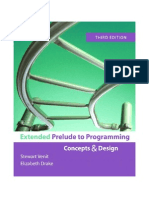 Extended Prelude to Programming Entire eBook 3rd Edition